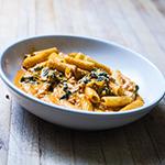 Rigatoni a pollo e spinaci (2)